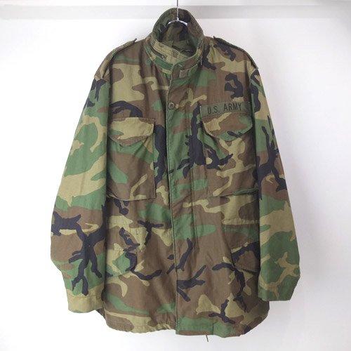 M-65 フィールドジャケット ウッドランドカモ (MR ) 米軍実物 古着