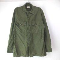 米軍 コットンサテン ユーティリティシャツ 70'