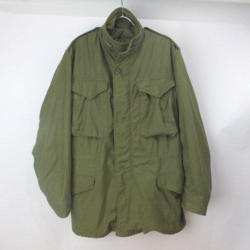 M-65 フィールドジャケット アルミジッ...