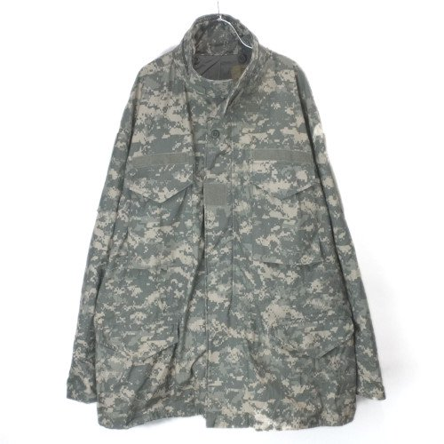 M-65 フィールドジャケット ユニバーサルカモ XLR 米軍実物 古着