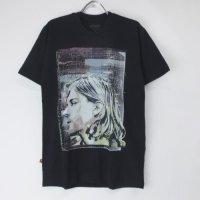 (M) カートコバーン (COLOR COLLAGE) ニルヴァーナ  Tシャツ(新品)【メール便可】