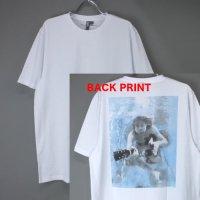 (M) カートコバーン バックプリント (UNDERWATER) ニルヴァーナ  Tシャツ(新品)【メール便可】