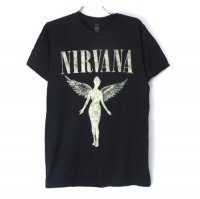 (S) ニルヴァーナ   (IN UTERO TOUR) Tシャツ(新品)【メール便送料無料】