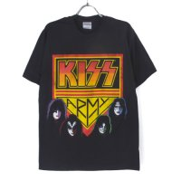 (L) キッス KISS ARMY  Tシャツ (新品)【メール便可】