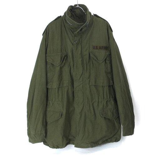 M-65 フィールドジャケット  アルミジップ セカンド  (ML)  米軍実物 古着