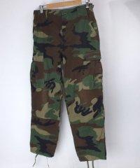 ウッドランドカモ BDU パンツ SS
