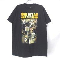 (M) ボブディラン アンド ザ・バンド BASEMENT TAPES Tシャツ(新品)【メール便可】