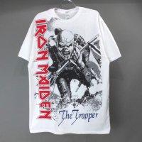 (L) アイアンメイデン OVERSIZED TROOPER Tシャツ (新品) 【メール便可】