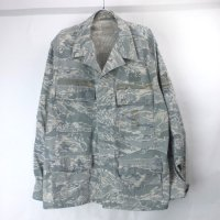 (48R) エアフォース タイガーストライプ BDU シャツジャケット