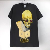 (M) ラッシュ PUSHEAD ROLL THE BONES Tシャツ (新品) 【メール便可】