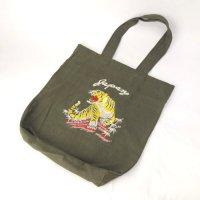 スーベニア刺繍 トートバッグ 虎 OD新品【メール便可】