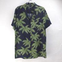 レーヨン ハワイアンシャツ #2 パーム NV (M)【メール便可】 新品