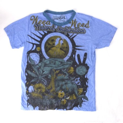 <img class='new_mark_img1' src='https://img.shop-pro.jp/img/new/icons35.gif' style='border:none;display:inline;margin:0px;padding:0px;width:auto;' />Natural Inspiration weed Tシャツ (M)【メール便可】