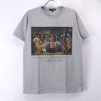 (L/グレー) 最後の晩餐 ロックスター Tシャツ(新品)【メール便可】