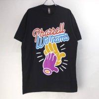 (L) ファレルウィリアムスCLAPPING Tシャツ BLK (新品) 【メール便送料無料】