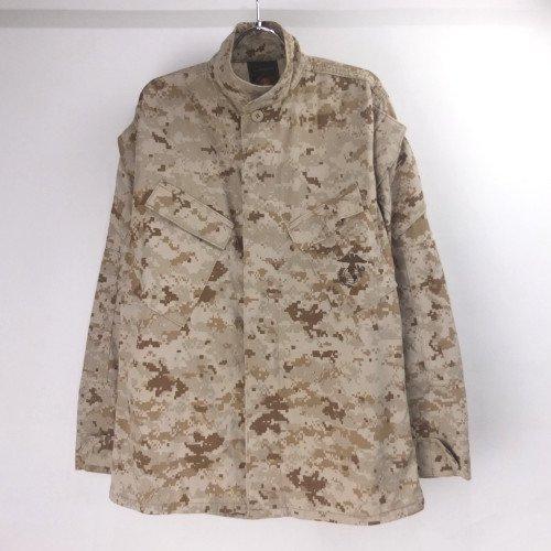 USMC デザート マーパット カモ ミリタリーシャツジャケット(SR)