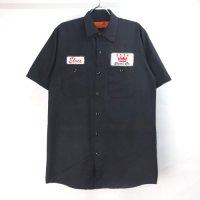 ワッペン ワークシャツ  S/S  #16【メール便可】(sale商品)