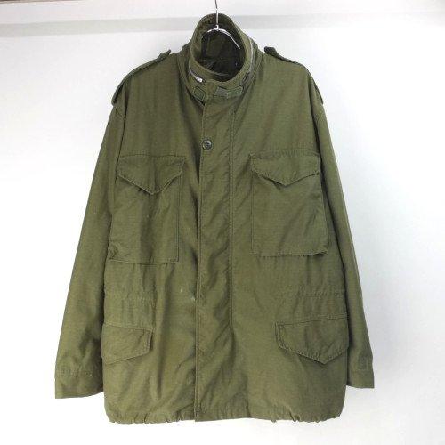 M-65 フィールドジャケット セカンド アルミジップ ( MS ) 米軍実物 古着
