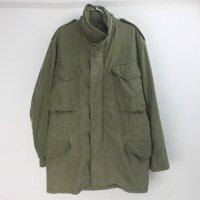 M-65 フィールドジャケット セカンド アルミジップ (MRぐらい ) 米軍実物 古着