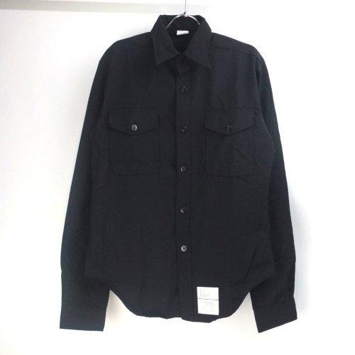 米軍 U.S.NAVY ブラックシャツ 15.1/2x37