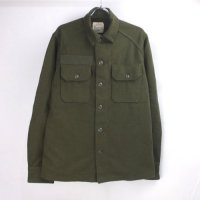 (S) 米軍 ウール ミリタリーシャツ #1 ネームパッチあり デッドストック