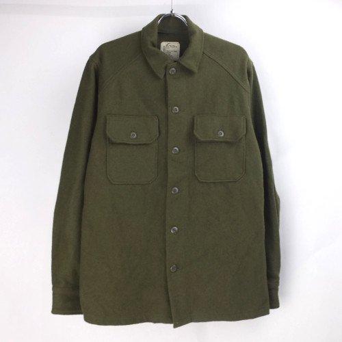 (S) 米軍 ウール ミリタリーシャツ #2  ネームパッチなし デッドストック