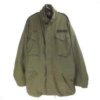 M-65 フィールドジャケット セカンド  アルミジップ (ML) 米軍 実物