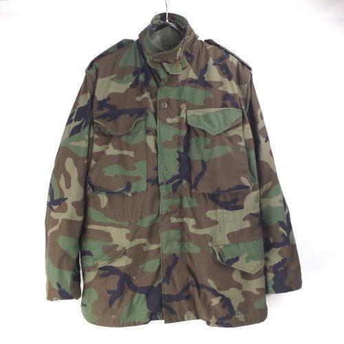 M-65 フィールドジャケット ウッドランドカモ SS 米軍 実物