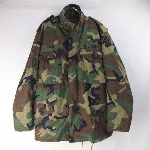 M-65 フィールドジャケット ウッドランドカモ MR 米軍 実物