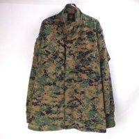 USMC ウッドランドマーパット カモ ミリタリーシャツジャケット(MR)