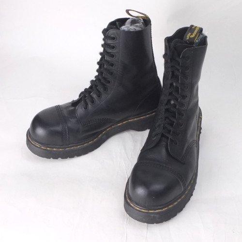 ドクターマーチン  スチールトゥ 10ホール ブーツ Dr. Martens 英国製 UK8 26.5cmぐらい