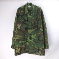 米軍 ジャングルファティーグ シャツ ジャケット グリーンリーフ ミックス カモ  (MR) 60年代 実物 ベトナム
