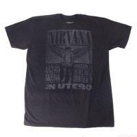 (XL) ニルヴァーナ WINGED ASTRONAUT Tシャツ (新品) 【メール便可】