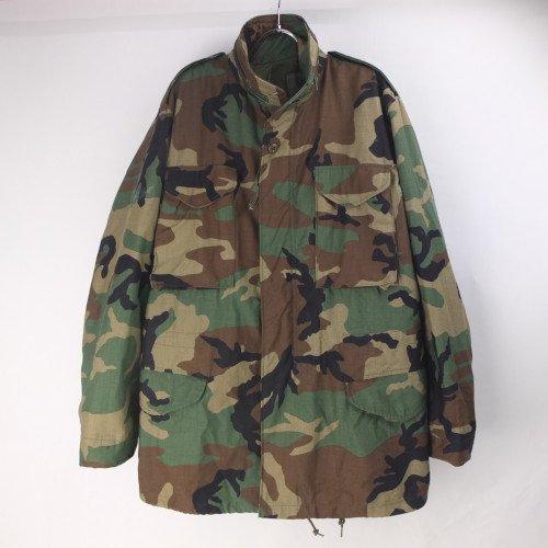 M-65 フィールドジャケット ウッドランドカモ  ML 米軍 実物