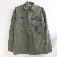 米軍 コットンサテン ユーティリティシャツ  U.S.AIRFORCE 14.1/2