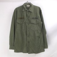 米軍 コットンサテン ユーティリティシャツ  U.S.ARMY  15.1/2