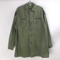 米軍 コットンサテン ユーティリティシャツ  U.S.ARMY  16.1/2