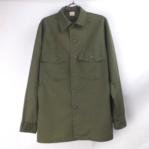 米軍 ポリコットン  ユーティリティシャツ  #B1 15.1/2x33