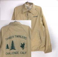 TIMBER TWIRLERS ナイロンコーチジャケット アメリカ製