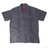 (DGRY/M) Maximos マキシモス キューバシャツ (新品) 半袖  【メール便可】