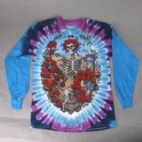 (M) グレイトフルデッド 30th. Anniversary  タイダイ ロンT (新品) 長袖Tシャツ GRATEFUL DEAD【メール便可】
