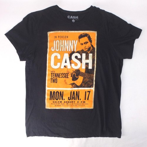 ジョニーキャッシュ JOHNNY CASH Tシャツ 古着【メール便可】