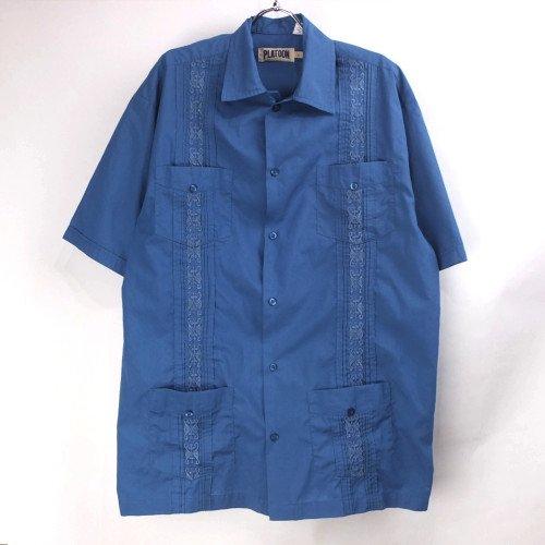 PLATOON 半袖キューバシャツ 【メール便可】