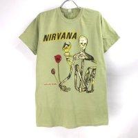(L) ニルヴァーナ INSECTICIDE Tシャツ (新品B品リペア)  オフィシャル【メール便可】