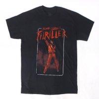 (M) マイケルジャクソン スリラー Tシャツ (新品)  オフィシャル 【メール便可】