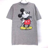 【L】 ミッキーマウス Disney Tシャツ HGR(新品) 【メール便可】(sale商品)