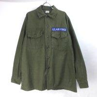 米軍 コットンサテン  ユーティリティシャツ  U.S.FROCE  16.1/2