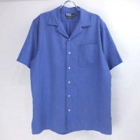 ラルフローレン 半袖 シルクシャツ  # Ralph Lauren 【メール便可】