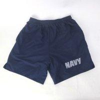 U.S.NAVY トレーニング ショートパンツ SMALL【メール便可】