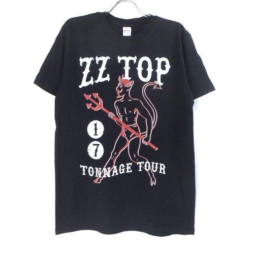 (M) ZZ TOP TONNAGE TOUR Tシャツ (新品) オフィシャル 【メール便可】